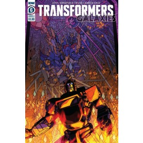 Transformers: Galaxies (2019) #6 VF/NM IDW