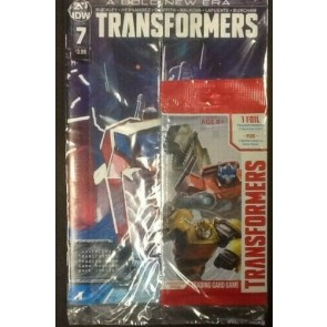 Transformers (2019) #7 VF/NM Christian Ward Cover A Sealed with Card IDW