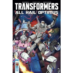 Transformers (2014) #55 VF Rom Subscription Variant Cover IDW