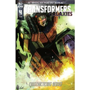 Transformers: Galaxies (2019) #4 VF/NM IDW
