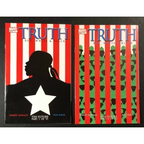 Truth Red White & Black (2003) #1 2 3 4 VF+ (8.5) 1st app Isaiah Bradley