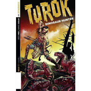 TUROK: DINOSAUR HUNTER (2014) #1 VF/NM GREG PAK DYNAMITE GOLD KEY