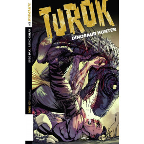TUROK: DINOSAUR HUNTER (2014) #3 VF/NM GREG PAK DYNAMITE GOLD KEY