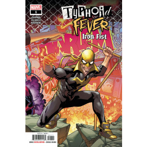 Typhoid Fever: Iron Fist (2018) #1 VF/NM R. B. Silva Cover