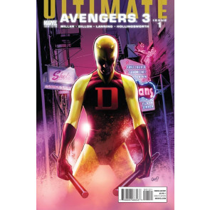 ULTIMATE AVENGERS 3 #1 OF 6 NM GREG LAND DAREDEVIL YELLOW VARIANT COVER