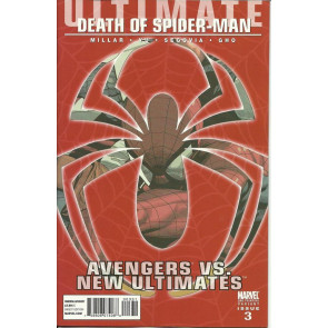 ULTIMATE AVENGERS VS. NEW ULTIMATES #3 2ND PRINTING NM