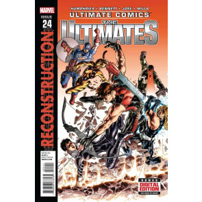 ULTIMATE COMICS THE ULTIMATES #24 VF/NM RECONSTRUCTION