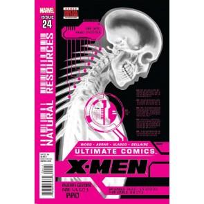 """ULTIMATE COMICS X-MEN #'s 24, 25, 26, 27, 28 COMPLETE """"NATURAL RESOURCES"""" SET"""