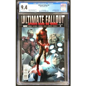 Ultimate Fallout (2011) #4 CGC 9.4 1st app Miles Morales (3721824004)