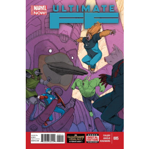 ULTIMATE FF (2014) #5 VF/NM MARVEL NOW