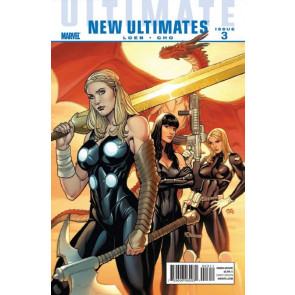 ULTIMATE NEW ULTIMATES #3 NM