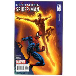 ULTIMATE SPIDER-MAN #68 NM HUMAN TORCH