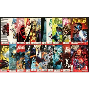 Uncanny Avengers (2012) 1-25 + Annual 1 VF/NM (9.0) Near complete set 22 comics