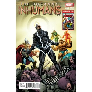 Uncanny Inhumans (2015) #0 VF/NM Perkins One Minute Later Variant Cover