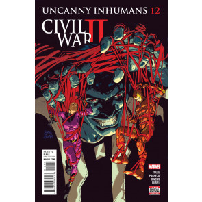 Uncanny Inhumans (2015) #12 VF/NM