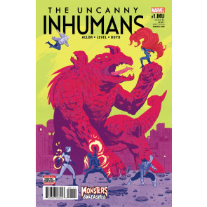 Uncanny Inhumans (2015) #1.MU VF/NM Monsters Unleashed