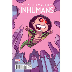 Uncanny Inhumans Annual #1 (2016) VF/NM (9.0) Scottie Young variant