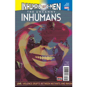 Uncanny Inhumans (2015) #18 VF/NM (9.0) vs X-Men