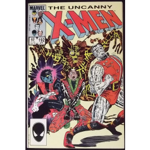 UNCANNY X-MEN #192 NM- JOHN ROMITA JR ART
