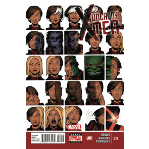 UNCANNY X-MEN (2013) #14 VF+ MARVEL NOW!