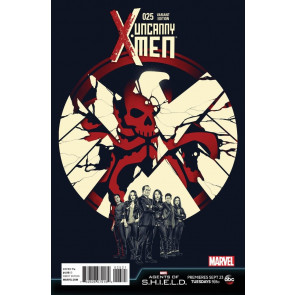 UNCANNY X-MEN (2013) #25 VF/NM AGENTS OF SHIELD VARIANT COVER MARVEL NOW!