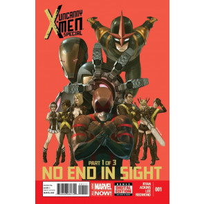 UNCANNY X-MEN SPECIAL (2014) #1 VF/NM NO END IN SIGHT PART 1 OF 3 MARVEL NOW