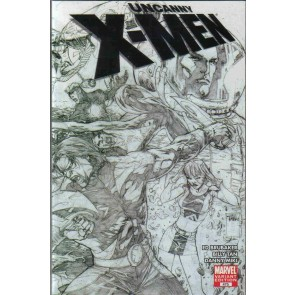 Uncanny X-men (2013) #475 VF/NM-NM Billy Tan Sketch Variant Cover