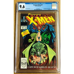 Uncanny X-Men (1963) #241 CGC 9.6 Madelyn Pryor Inferno (2062548007)