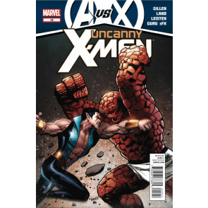 Uncanny X-Men (2011) #12 VF/NM AvsX Sub Mariner Thing Battle Cover
