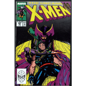 Uncanny X-Men (1963) #257 NM- (9.2) 2nd appearance Psylocke Jim Lee art