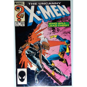 Uncanny X-Men (1981) #201 VF+ (8.5)  1st Cable (Baby Nathan Summers)