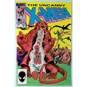 Uncanny X-Men (1981) #187 VF/NM (9.0)