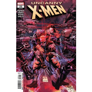 Uncanny X-men (2018) #22 (#644) VF/NM Whilce Portacio Cover
