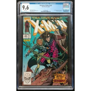 Uncanny X-Men (1963) #266 CGC 9.6 White Pages 1st Full App Gambit (2019913007)
