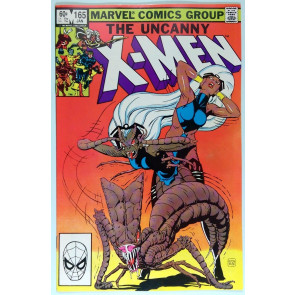 Uncanny X-MEN (1981) #165 NM (9.4) artist - Paul Smith Begins