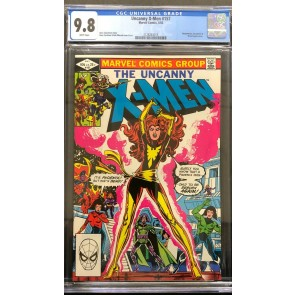 Uncanny X-Men #157 CGC 9.8 White Pages Phoenix Cover (2128263015)