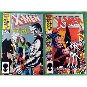 Uncanny X-Men (1981) 210 211 212 213 complete VF/NM Wolverine vs Sabretooth arc