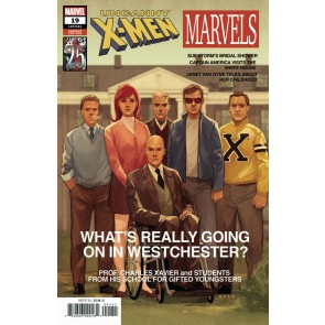 Uncanny X-men (2018) #19 (#641) VF/NM Marvels 25th Anniversary Variant Cover