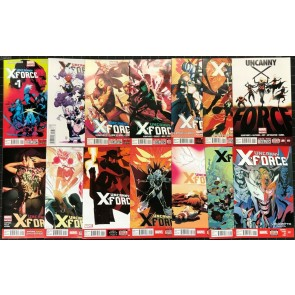 Uncanny X-Force (2013) #1-17 + Young variant near complete set missing 7 8 13 16