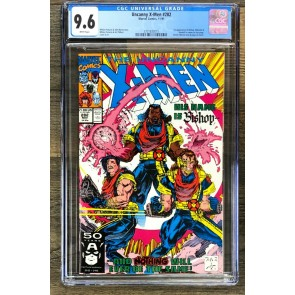 Uncanny X-Men (1981) #282 CGC 9.6 1st app Bishop (3701833015)