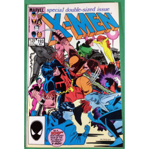 Uncanny X-Men (1981) 193 NM (9.4) 1st app Firestar Hellions & Warpath in costume
