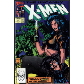 Uncanny X-Men (1963) #267 VF+ (8.5) 2nd app Gambit Jim Lee cover