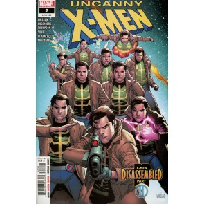 Uncanny X-men (2018) #2 (#621) VF/NM Leinil Francis Yu  Regular Cover