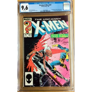 Uncanny X-Men (1963) #201 CGC 9.6 1st app Cable as a baby (2062548006)
