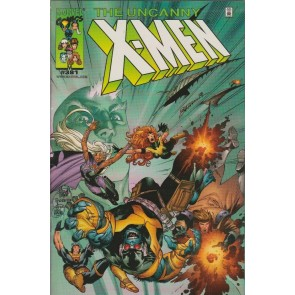 Uncanny X-men (1981) #381 VF/NM-NM Dynamic Forces Chrome Variant Limited to 3000