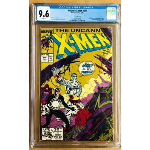 Uncanny X-Men (1963) #248 CGC 9.6 2nd print gold variant (2062548015)