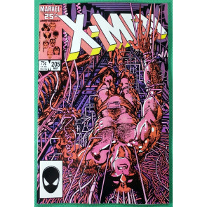 Uncanny X-Men (1981) #205 VF- (7.5) Wolverine solo artist Barry Smith Weapon X