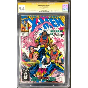 Uncanny X-Men (1981) #282 CGC 9.4 Signed by Whilce Portacio (1331012003)
