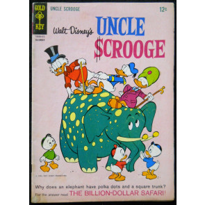 UNCLE SCROOGE #'s 54, 55 & 57 WALT DISNEY DELL 1963