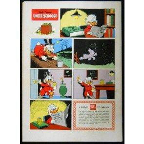 UNCLE SCROOGE #'s 14 & 15 WALT DISNEY DELL COMICS 1956 EARLY LOT